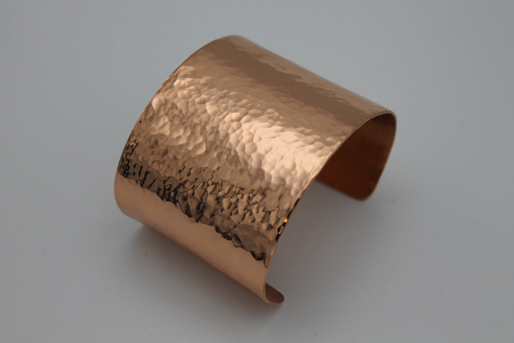 "2"" Egyptian Queen Copper cuff - (Shiny)"