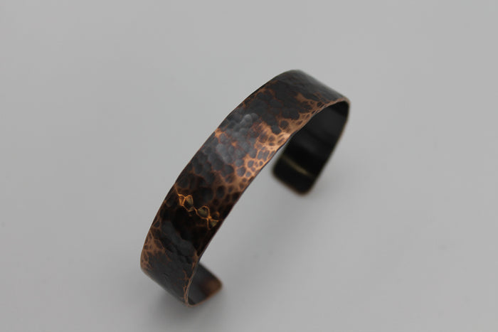 "1/2"" Gladiator Copper Cuff (Oxidized)"