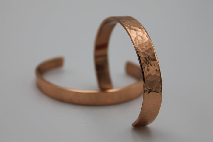 "1/4"" Egyptian Queen Copper Cuff - (Oxidized)"