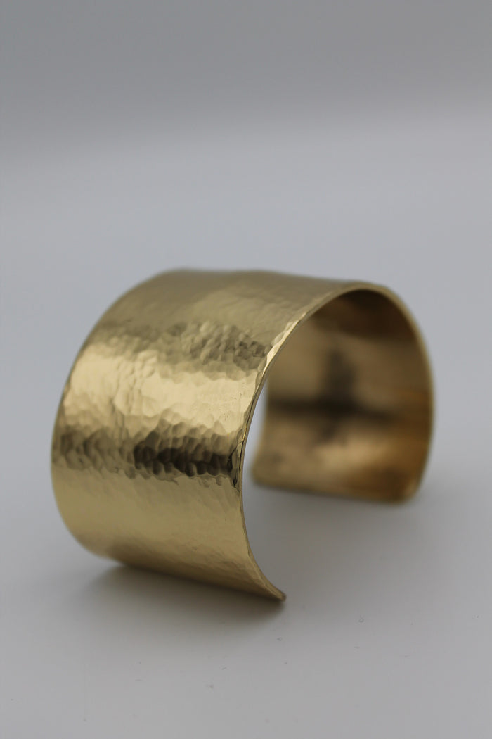 "1.5"" Egyptian Queen Brass Cuff (Shiny)"
