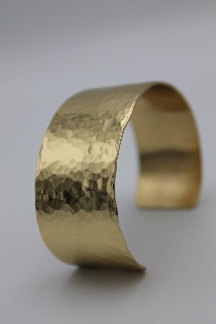 "1"" Egyptian Queen Brass Cuff"