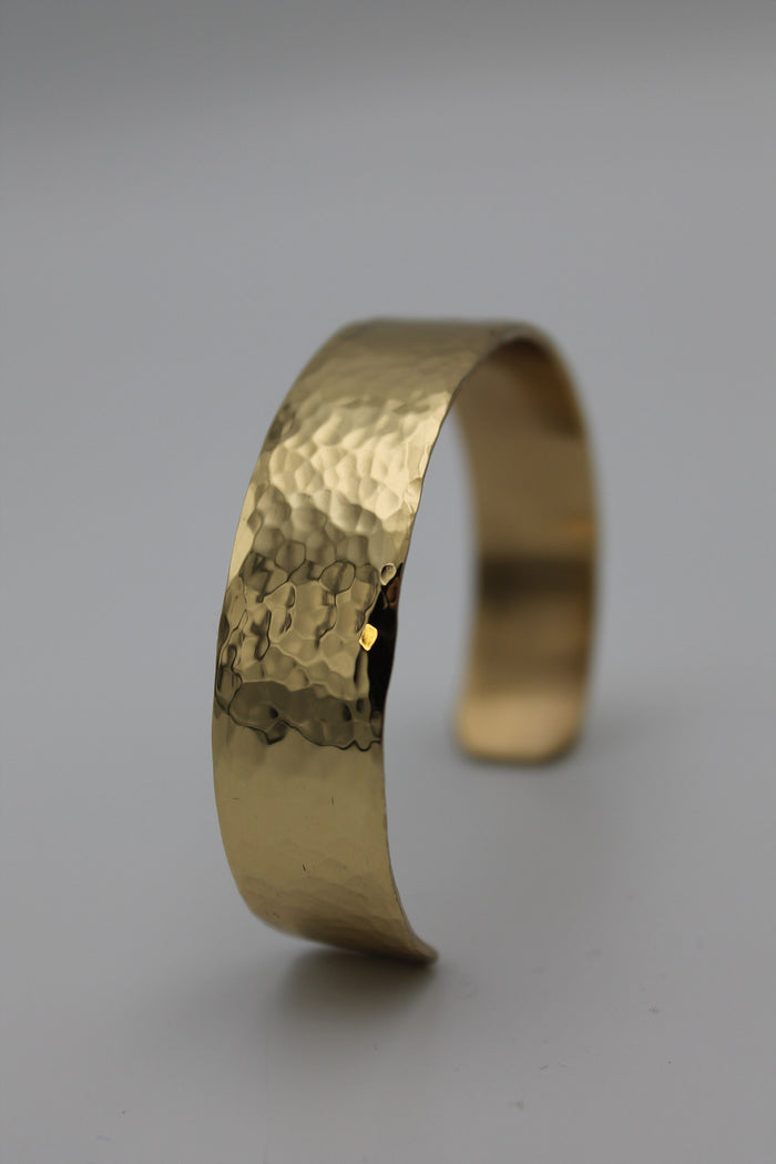 "1/2"" Egyptian Queen Brass Cuff (Shiny)"