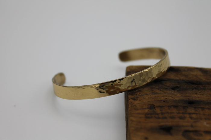 "1/4"" Egyptian Queen Brass Cuff"