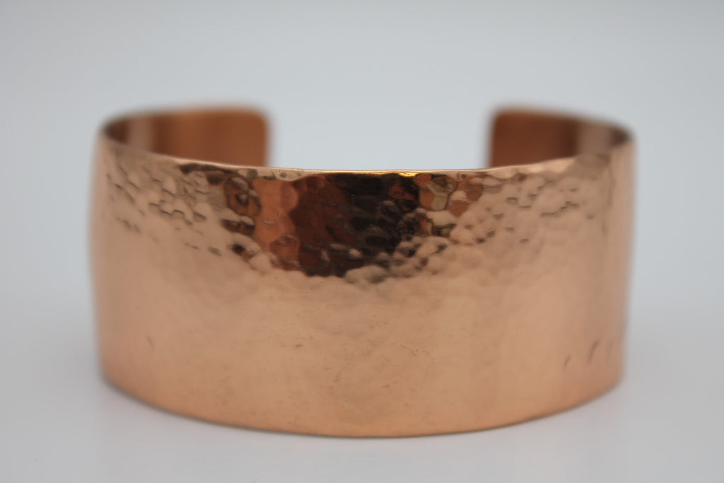 "1"" Egyptian Queen Copper Cuff -(Shiny)"