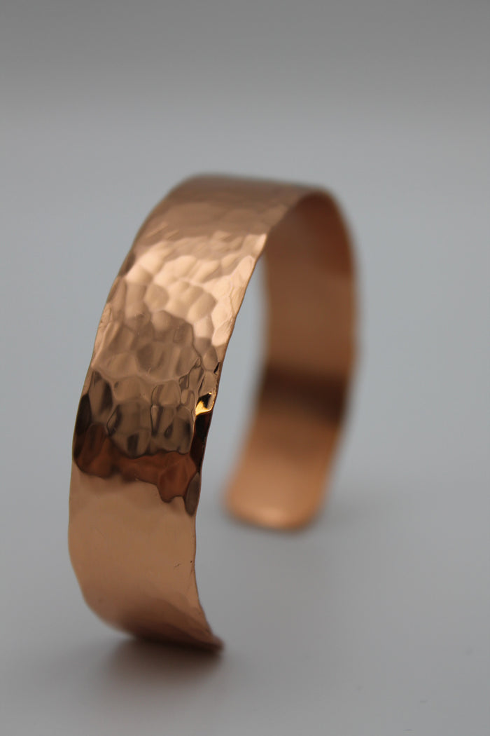 "1/2"" Egyptian Queen Copper Cuff - (Shiny)"