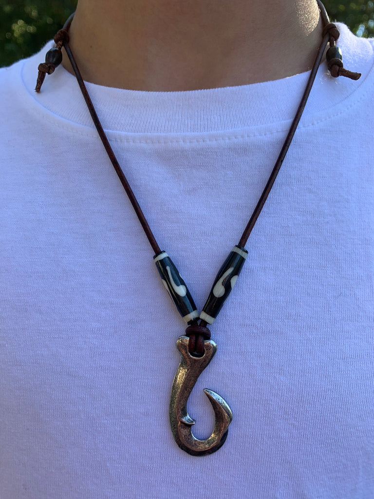 New!!! Ace Videos Fish Hook Necklace