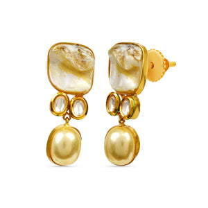 Baroque Pearls Earrings earrings statements