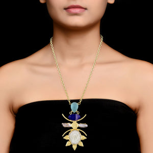 FEY-NECKLACE BY AURIC EXPLOSION Jewelry by Statements