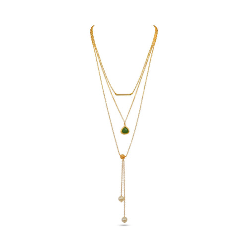 Vital Harmony by VALERIA Necklace Jewelry by Statements GREEN