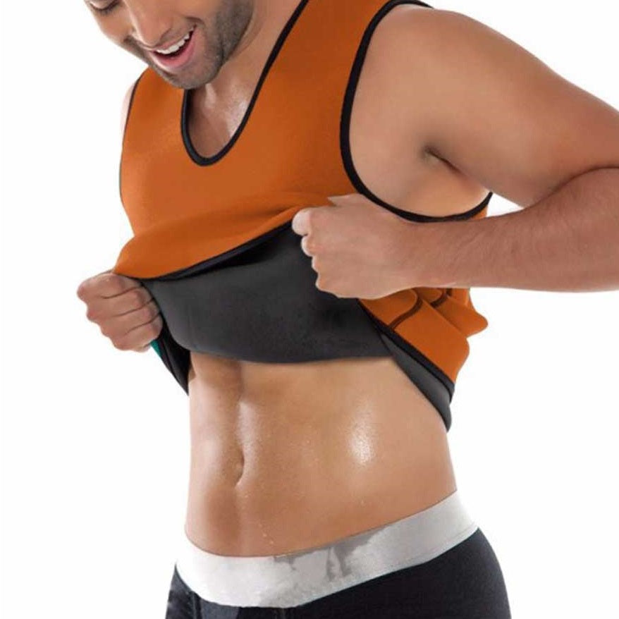 Sweat Sauna Vest preserves body heat and stimulates sweat during exercise, can burn more calories, and helps you shed pounds faster and easier.