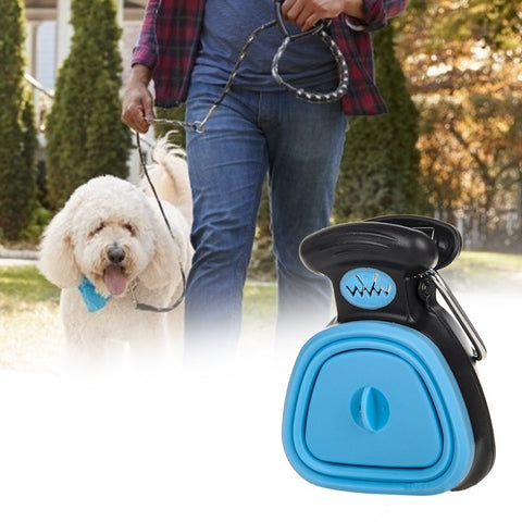 Remove dog poop and waste from any surface without using your hands.