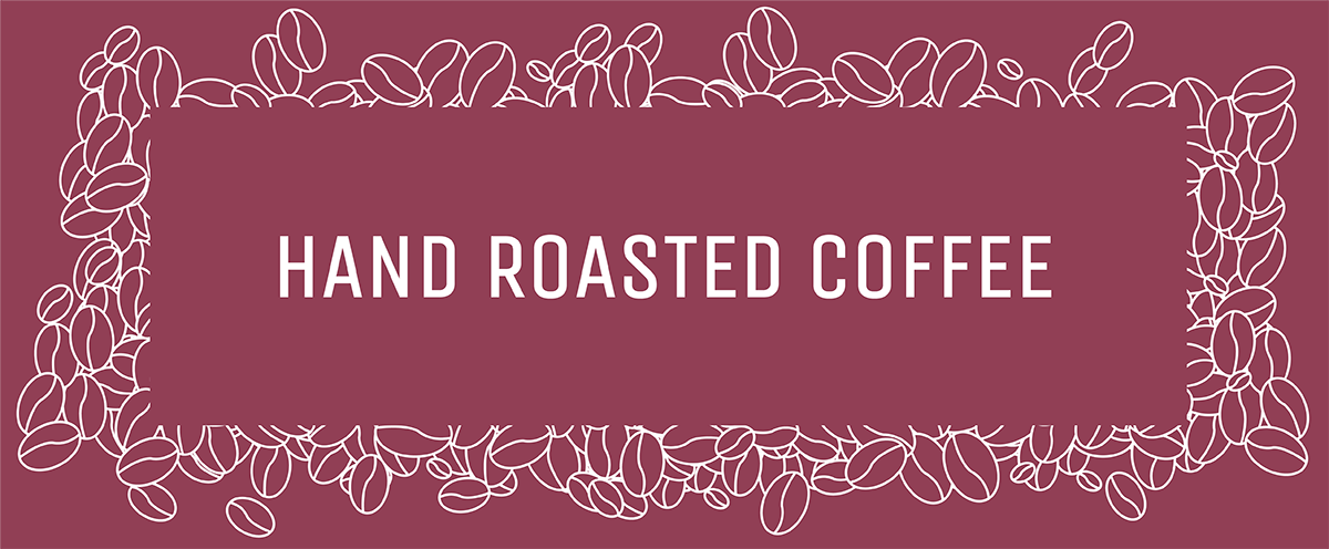 Hand roasted coffee Grape and Bean Ireland