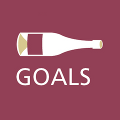 Grape and bean goals for real wine