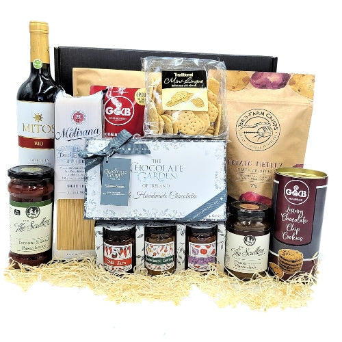 Artisan Food & Red Wine Hamper