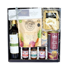 Artisan Food & White Wine Gift Box