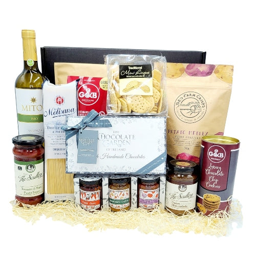 Artisan Food & White Wine Hamper
