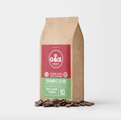 G&B Hand Roasted Coffee Beans 1kg Dunamaise Blend
