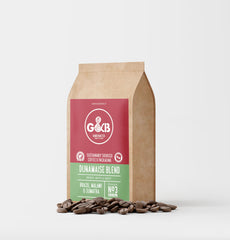 G&B Hand Roasted Coffee Beans 227g Dunamaise Blend