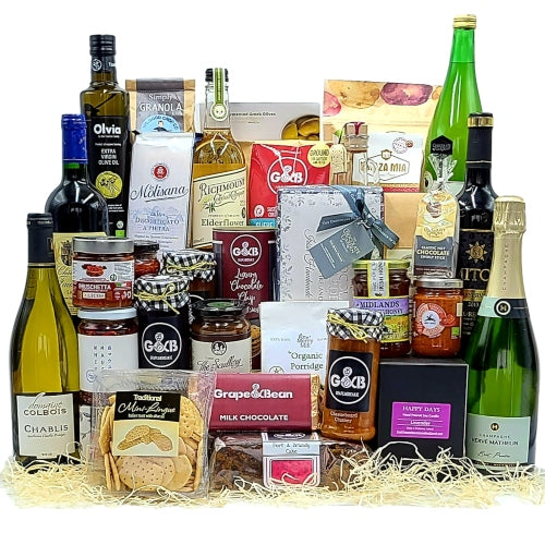 Extra Large Luxury Artisan Food & Wine Hamper