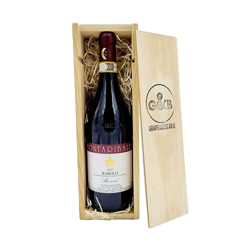 Italian Barolo King of Wines Wooden Gift Box