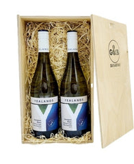New Zealand Sauvignon Blanc Wooden Twin Gift Box Twin