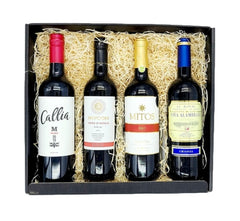 Red Wine Lovers 4 Bottle Gift Pack