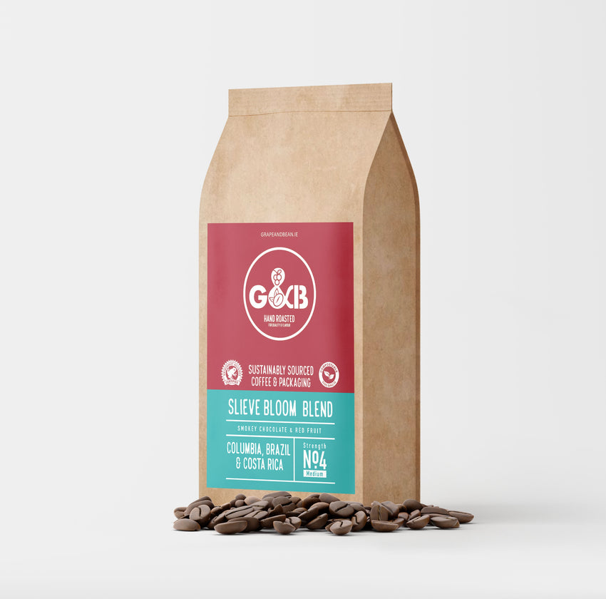 G&B Hand Roasted Coffee Beans 1kg Slieve Bloom Blend