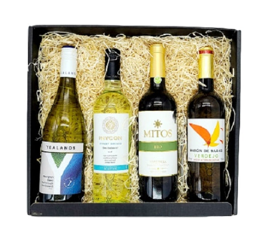 White Wine Lovers 4 Bottle Gift Pack