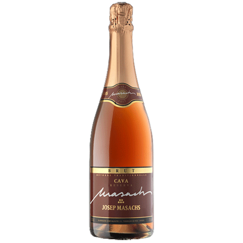 Josep Masachs Cava Brut Rose Wine Spain