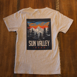 Day Dream Sun Valley Idaho Ash T-Shirt