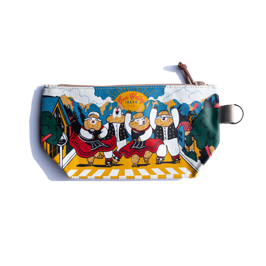 Sheep Festival Sun Valley Idaho Medium Pouch