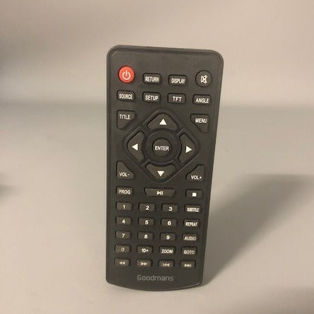 Goodmans GDVDPLY01 Remote Control