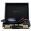 Goodmans Ealing Portable Briefcase style Turntable Black