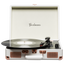 Goodmans Ealing Portable Briefcase style Turntable Cream