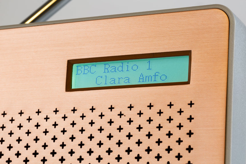Goodmans Canvas, Portable DAB Digital & FM RDS Radio, Battery Operated - Steel CANVASSTE transparent background