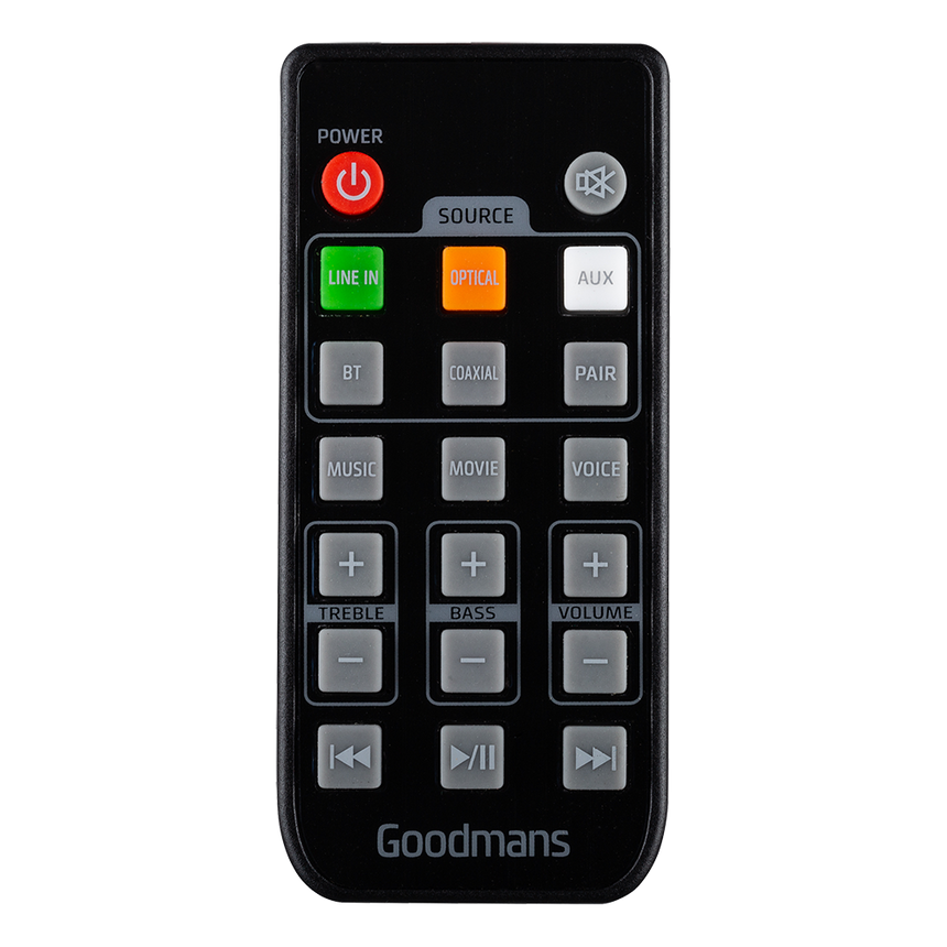 Goodmans GDSBT100OP Replacement Remote