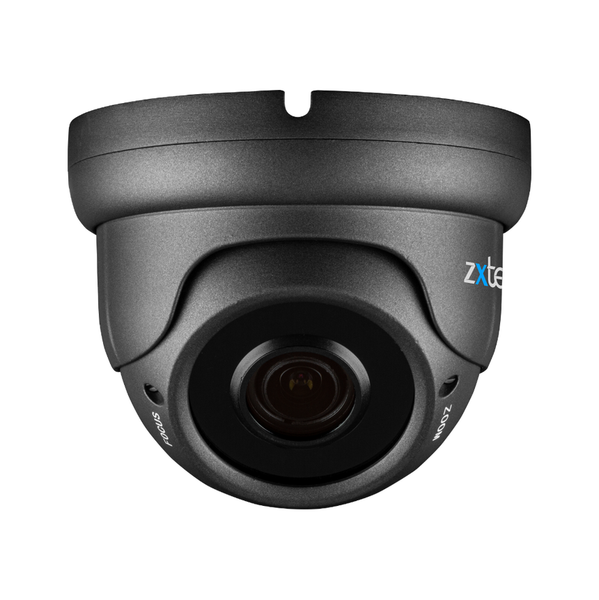 Zxtech Atlas Grey 5MP Varifocal PoE IP CCTV Camera