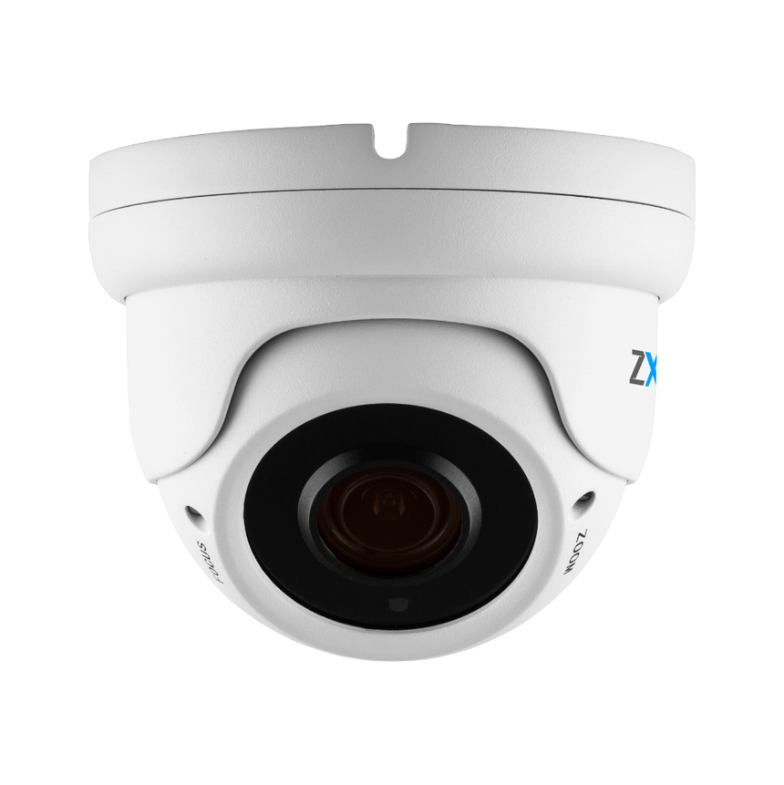 Zxtech Atlas White 5MP Varifocal PoE IP CCTV Camera