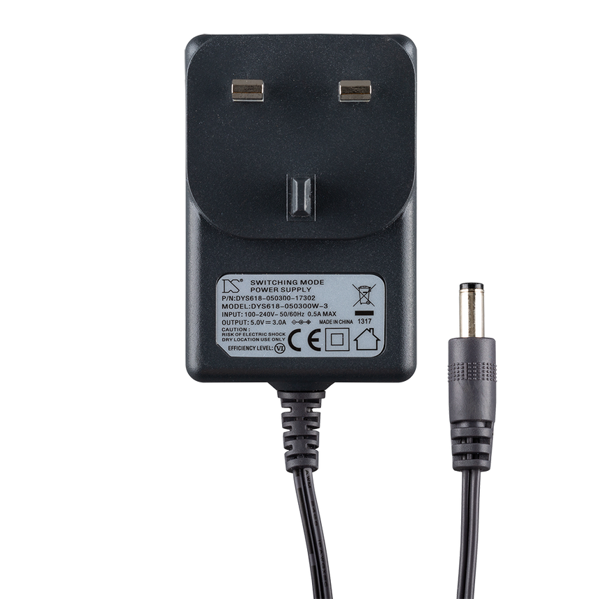 Goodmans 5v-3A NOD Power Adaptor
