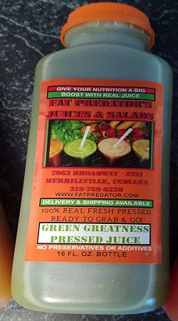 Green Greatness - Pressed Juice - 16oz.