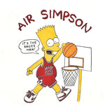 Deadstock Vintage Air Bart Simpson T-Shirt Sz XL
