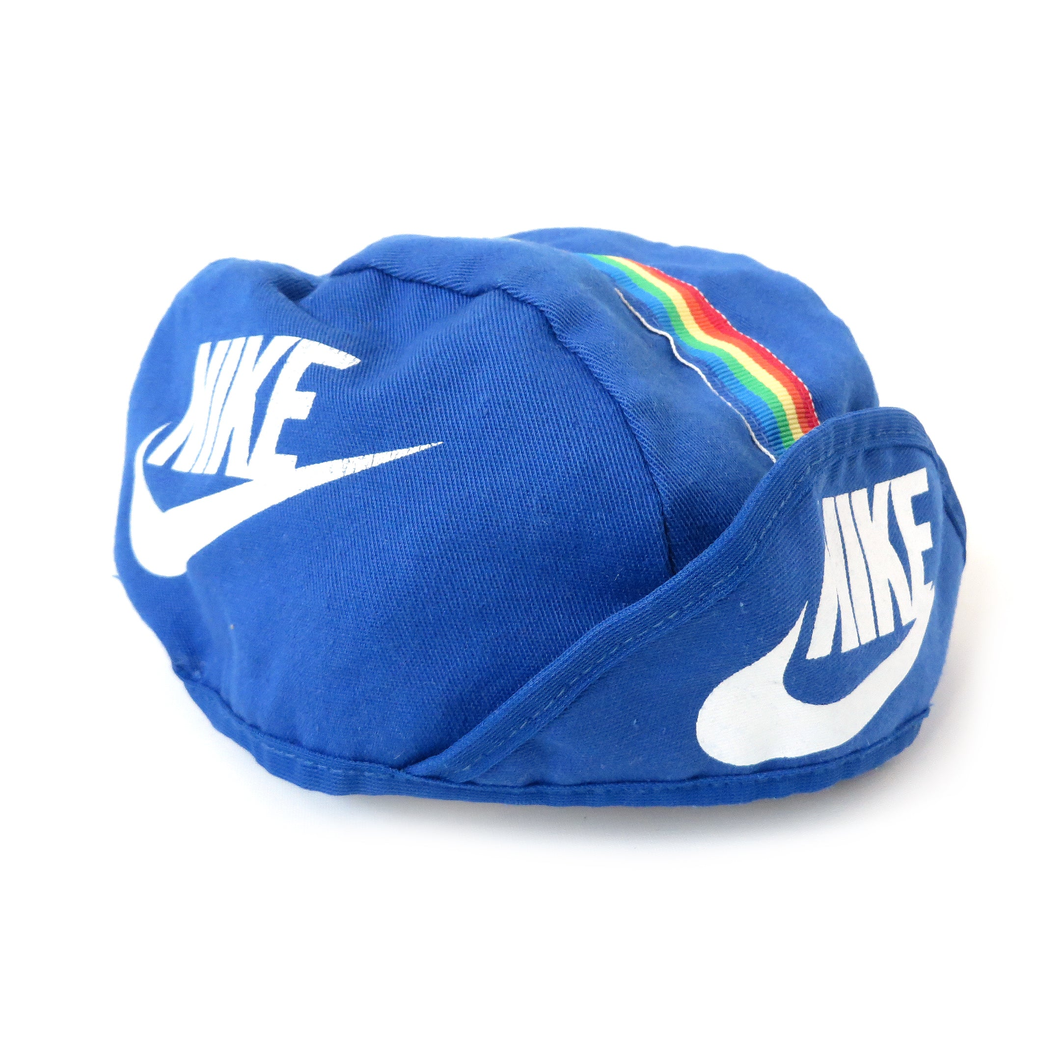 Vintage Nike Rainbow Cycling Cap