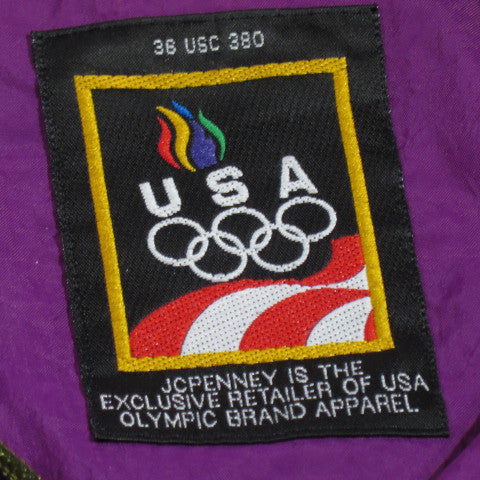 Olympic Team USA Zip Up Windbreaker Sz L