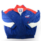 Buffalo Bills Zip Up Windbreaker Jacket Sz M
