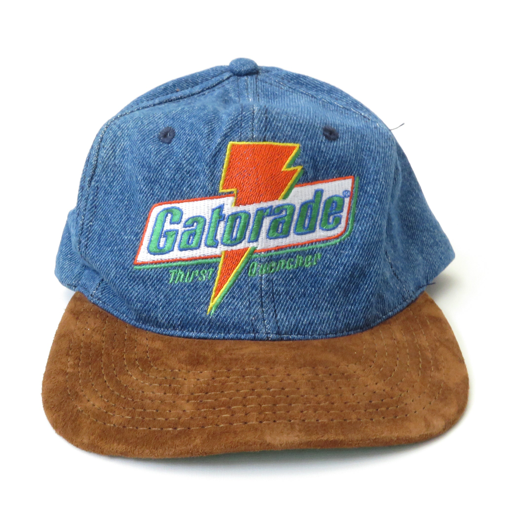 Vintage Gatorade Denim Snapback Hat