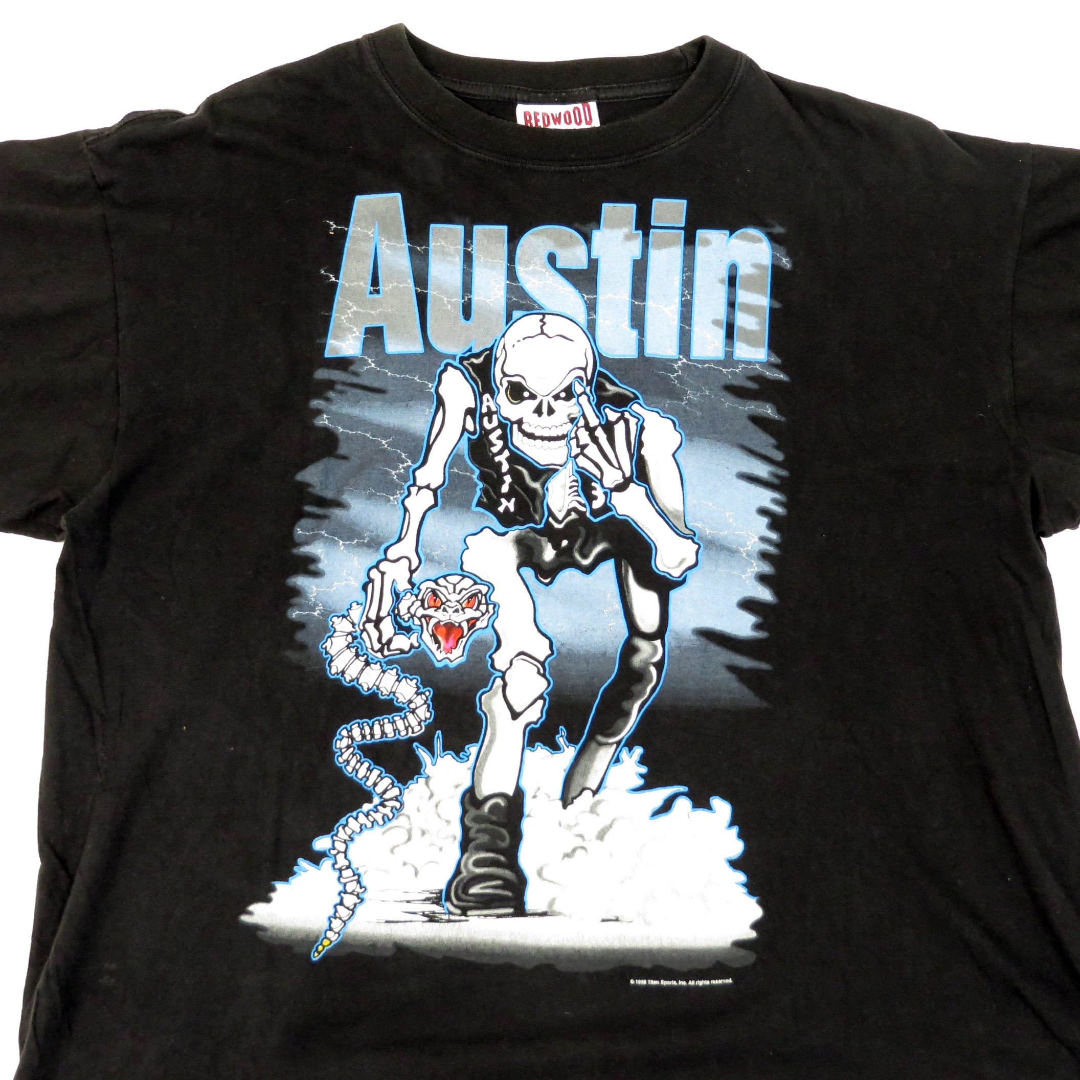 Vintage Stone Cold Austin 3:16 Bad To The Bonz T-Shirt Sz XL