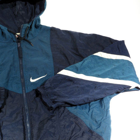 Nike Hooded Zip Up Windbreaker Jacket Sz XXL