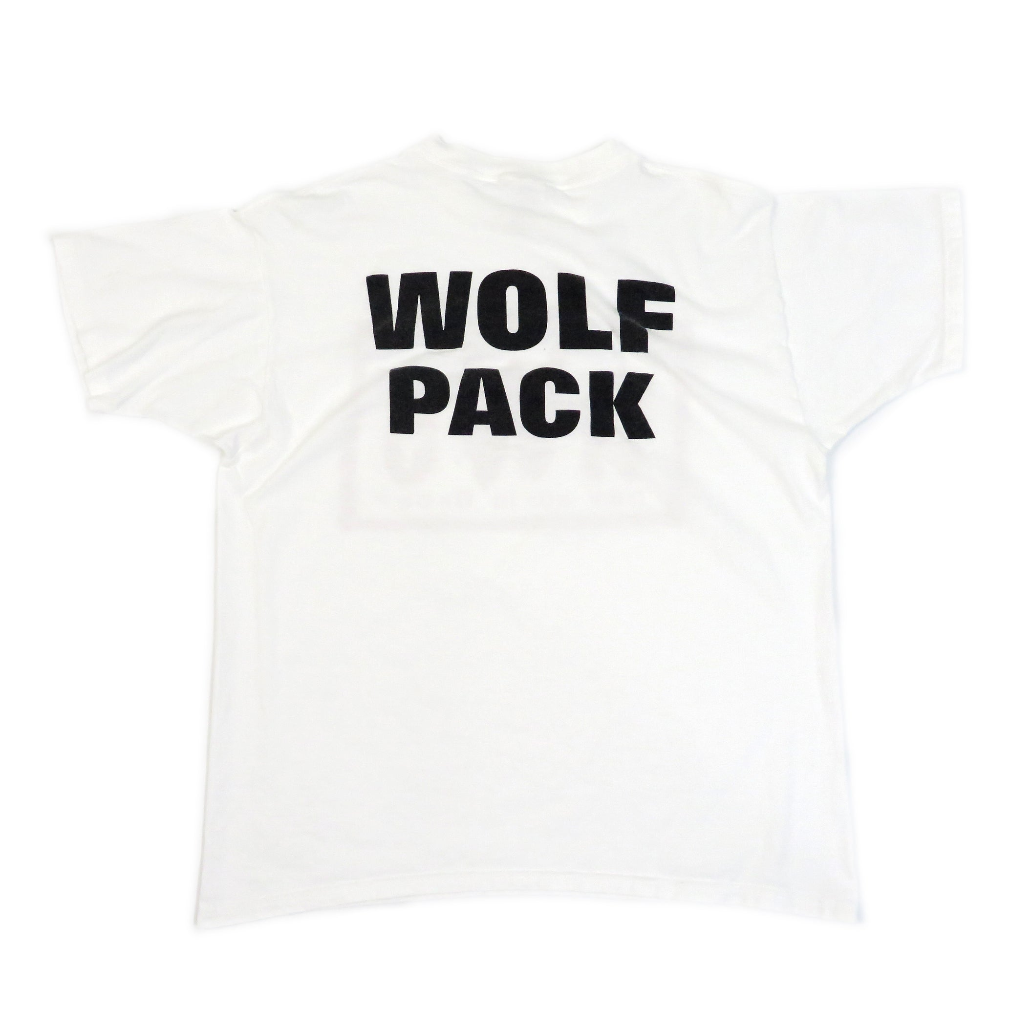 Vintage 1990's New World Order Wolf Pack T-Shirt Sz XL