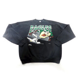 Taz Philadelphia Eagles Crewneck Sweatshirt Sz XL