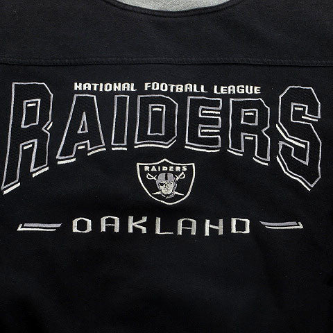 Oakland Raiders Crewneck Sweatshirt Sz L